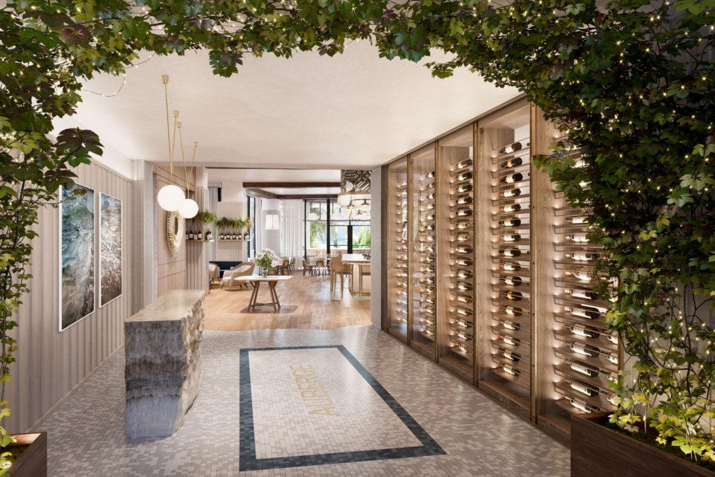 Auberge Restaurant_3D Rendering_Entry_Missing Tile at Floor